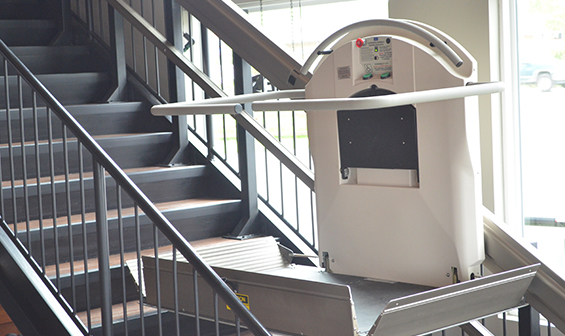 Garaventa Inclined wheelchair lift