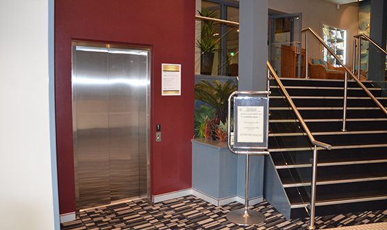 Limited Use Limited Application Elevator in commercial building