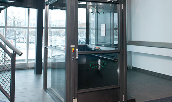 Commercial Vertical Wheelchair Lift