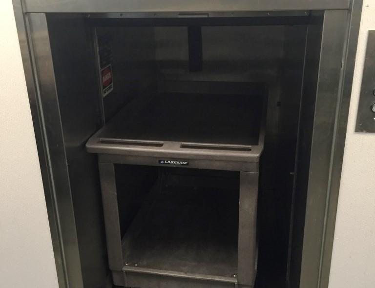 dumbwaiter for commercial kitchens
