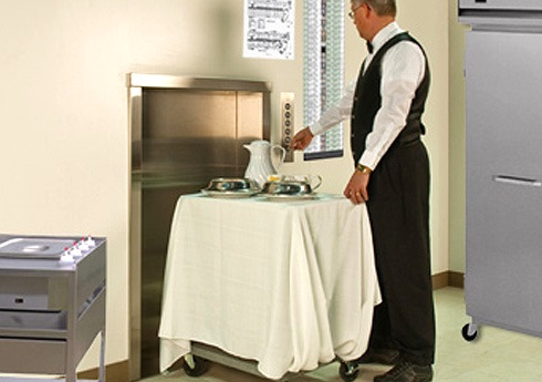 dumbwaiter for hotels and guest services