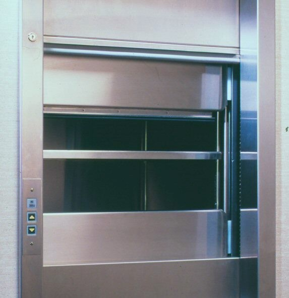 stainless steel dumbwaiter
