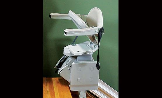 Bruno Elan Stair Chair SRE 3000 power folding footrest