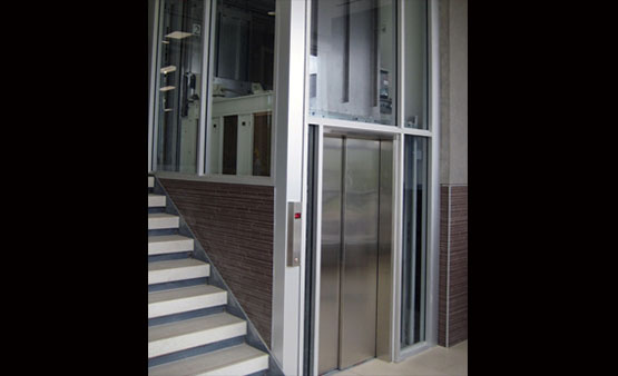 Glass Limited Use Limited Application Elevator