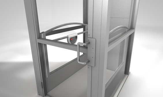 Ascension Clarity vertical wheelchair lift