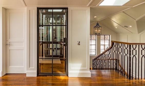 Interior home elevator